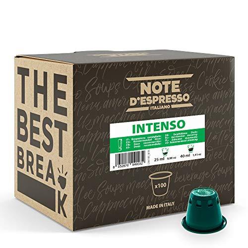 Capsulas De Cafe Nespresso Marca Note d'Espresso