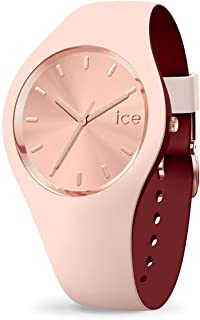 Ice-Watch - ICE duo chic Nude - Montre rose pour femme avec bracelet en silicone - 016985 (Medium)