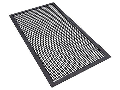 Ilsa Tapis de protection rectangulaire pour plaque à induction 44 x 24 cm avec bords renforcés