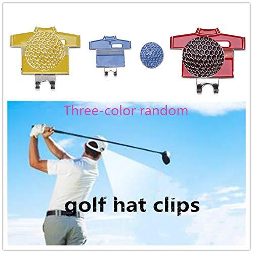 Qiyun Marqueur pour Balle de Golf, avec Clip magnétique, Clip Chapeau Golf pour Accessoires de Golf, vestiti