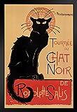 Poster Le Chat Noir The Black Cat Bohemian Montmartre Paris