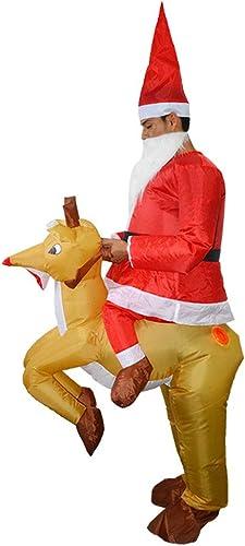 Zhanghaidong Aufblasbare Kostüm Und Cosplay Kostüm Anzüge Blow Up Kostüm Für Halloween Weißnachten Weißnachten Elch Cosplay Dress Up