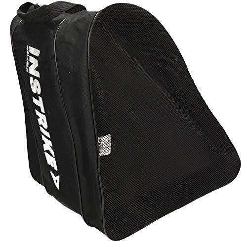Instrike Skate Bag Profi Qualität - Schlittschuh Tasche und Inline Tasche für Roller Skate Inliner und Schlittschuh aller Marken Kompatibel wie Bauer CCM Graf Mission Head Tour wasserabweisend