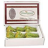 Ghasitaram Gifts Sweets - KAJU Pista ROLL (200 GMS)