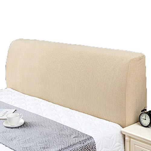 abamboo Soft Comfortable Style Bett Kopfteil Abdeckung Stretch Bett Kopf Abdeckung Spandex Stoff Kopfteile Staubdichte Schutzhülle