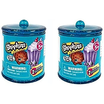 Set of 2 Shopkins Food Fair 2-Pack Canisters | Shopkin.Toys - Image 1