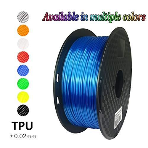 Logo 19 Color Option 1.75mm ABS Filament 17 Colors 1Kg 2.2 Pounds FDM 3D Printer Pen Supplies Plastic Printing Material (Color : Black)