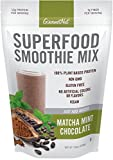 Gourmet Nut Superfood Smoothie Mix, Matcha Mint Chocolate, 15 Ounce