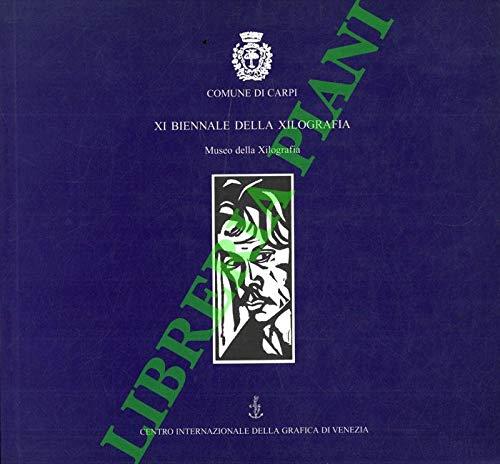 XI biennale della xilografia. Museo della xilografia.