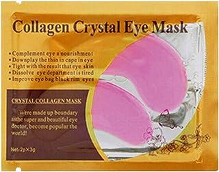 zroven 1 Pair / 2PCS Eye Gel Pads 24K Gold Collagen Eye Under Eye Pads for Moisturizing & Removing Dark Circles Eye Patche...