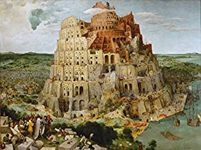 The Tower of Babel,BRUEGEL Pieter the Elder,50x40cm