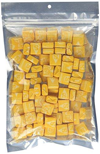 Yellow Starburst Lemon Chews - 1 Pound