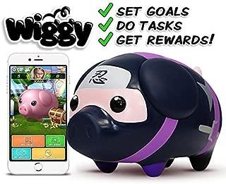Wiggy Piggy Bank (Ninja): Smart Speaking Piggy Bank and Task Tracker
