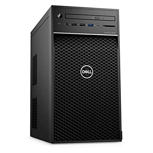 Dell Precision 3630 Tower Workstation, Intel Core i5-9600, 8GB RAM, 256GB SSD+3x 4TB SATA, 4GB NVIDIA Quadro P1000, Dell 3 YR WTY + EuroPC Warranty Assist, (Renewed)