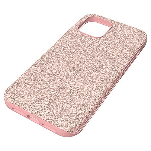 Swarovski Funda para smartphone High, iPhone® 12 Pro Max, Rosa