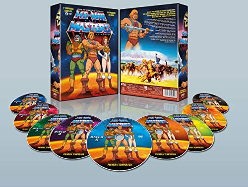 He-Man y los Masters del Universo Temporada 1 Pack 9 DVDs 1983 He-Man and the Masters of the Universe Season 1