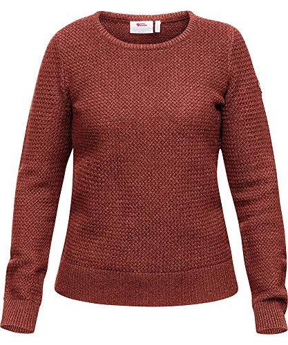 Fjallraven Damen Övik Structure Sweater W Sweatshirt, Terracotta Pink, XS