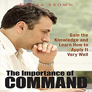 The Importance of Command audiobook cover art