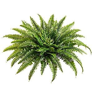26″ Silk Boston Fern Plant -Green (Pack of 4)