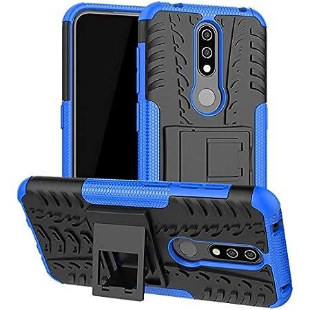 Soezit Poly Carbonate Back Cover for Nokia 4.2 - Blue