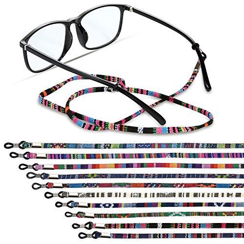 10 Pieces Glasses Strap, Eyewear Retainer Sunglass Straps, Eyeglass Holder Cord Lanyard Unisex...