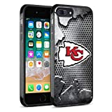 Chiefs iPhone 8 Case Chiefs, iPhone 7 Plus Chiefs Design Slim Fit Shockproof Anti-Scratch Shell for iPhone 8 Plus/iPhone 7 Plus 5.5 inches