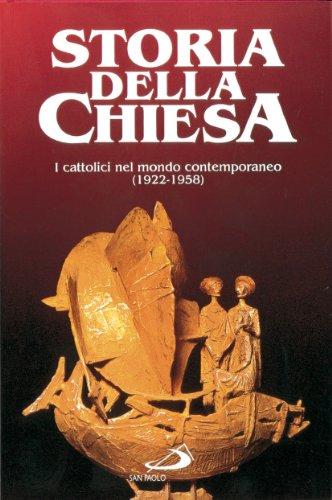 I cattolici nel mondo contemporaneo (1922 - 1958): 23