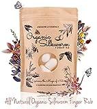 Memoir Organic Silkworm Finger Rub - Facial Cleanser,...