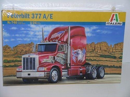 minorista de fitness Peterbilt 377 A E----Plastic Truck Model Kit by by by Italeri by Italeri  100% autentico
