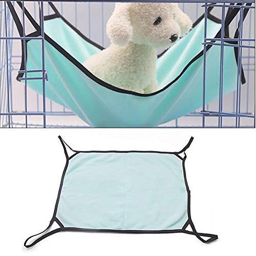 Perfecthome hangstoel voor katten, konijnen, kleine honden, kattenbed voor de zomer, voor huisdieren, Groen