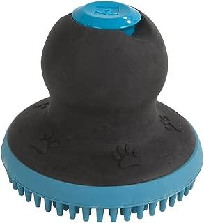 Fancy Fur FURemover Soap Dispensing Scrubber Brush, Pet Grooming Hand Brush, Reduce Shedding During Bath Time, Natural Rubber Pet Brush, Colors May Vary