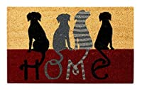 Better Trends/Pan Overseas FWAN1901 Dog Home Coir Door Mat [並行輸入品]