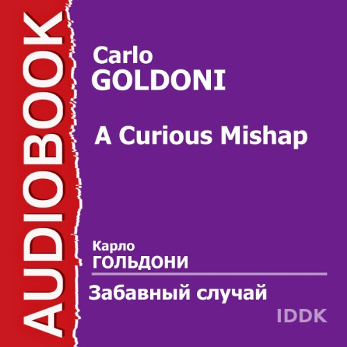 A Curious Mishap [Russian Edition] audiobook cover art