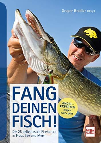 Fang deinen Fisch!: Die 25 beliebtesten Fischarten in Fluss, See und Meer