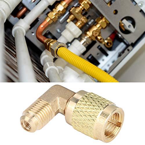 Meiyya Aire Acondicionado, Accesorio de Enfriador, latón para conexión de tuberías de Agua de Cobre para Aire Acondicionado