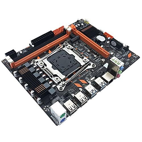 X99 DDR3 LGA2011-3 USB3.0 NVME M.2 SSD, memoria DDR3 y procesador Xeon E5 V3 D4 RAM