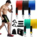 Foleto 11-Piece Exercise Resistance Bands Set