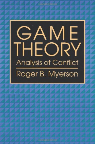 Game Theory: Analysis of Conflictの詳細を見る