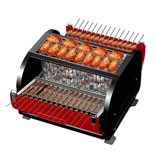 FEANG Grill Portable Outdoor String Barbecue Grill BBQ Rauchfrei Grill Holzkohle Grill Grill Grill Indoor Geeignet für 3-5 Personen Grillwerkzeug
