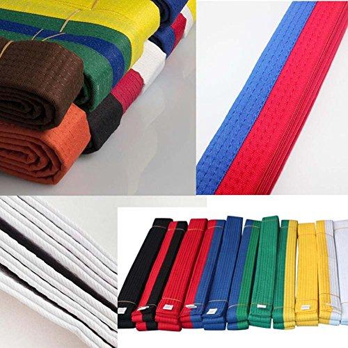 102,36 Pulgadas Clasificar Artes Marciales Taekwondo Hapkido K/árate Cintur/ón Blanco y Amarillo Alien Storehouse 260 cm