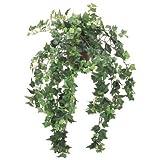 《光触媒》 (グリーン・ブッシュ(束)) ミニアイビーブッシュ(L) *18(ツートングリーン)◎ポット(鉢) 別売り◎(LEB0115L2TGRHI)[フェイクグリーン リーフ ブッシュ 束 人工観葉植物 光触媒]