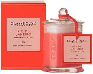 Glasshouse Triple Scented Candle - Rio De Janeiro (Passionfruit & Lime) 60g
