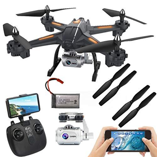 Sixcup® Globale Drohne S5 5.8G 1080P WiFi FPV Kamera RC Quadcopter Drone Aircraft Hot (Black)