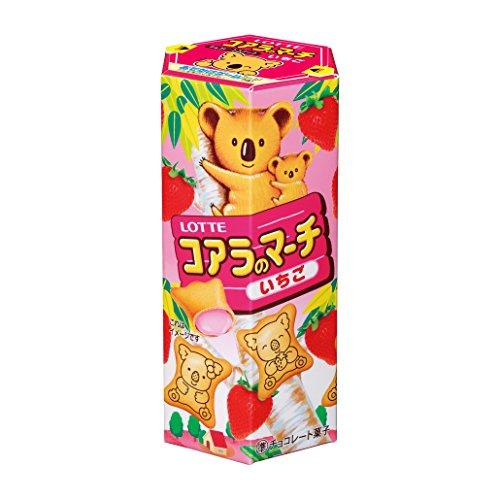 Lotte Koala M?rz & lt; Erdbeere & gt; 48gX10 St?cke
