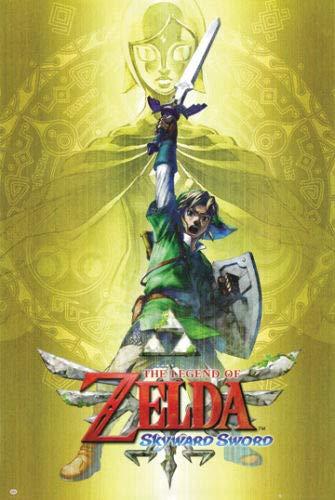 Hotstuff The Legend of Zelda 2011 Poster Print Skyward Sword Nintendo Wii Video Game 24