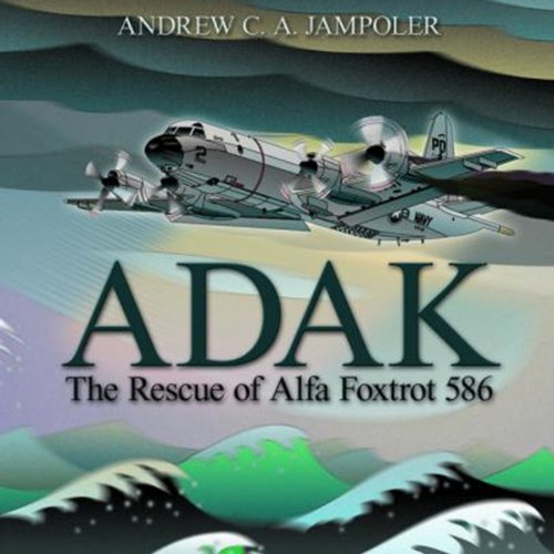 Adak audiobook cover art