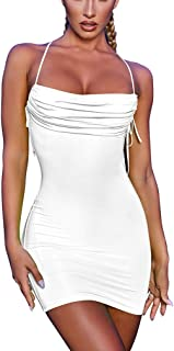 Best sexy white backless dress Reviews