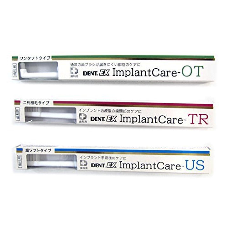 模倣実験をする内部デント DENT EX ImplantCare インプラントケア 単品 OT(ワンタフト)