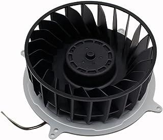 YUYAN Wewnętrzny wentylator chłodzący DC12V1.9A kompatybilny z konsolą PS5 23 łopatkowy wentylator chłodzący do cichego we...