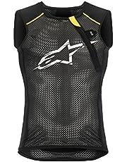 Alpinestars Paragon Vest - Chaleco para hombre, color negro y amarillo